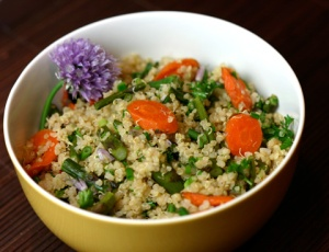 vegetable quinoa pilaf